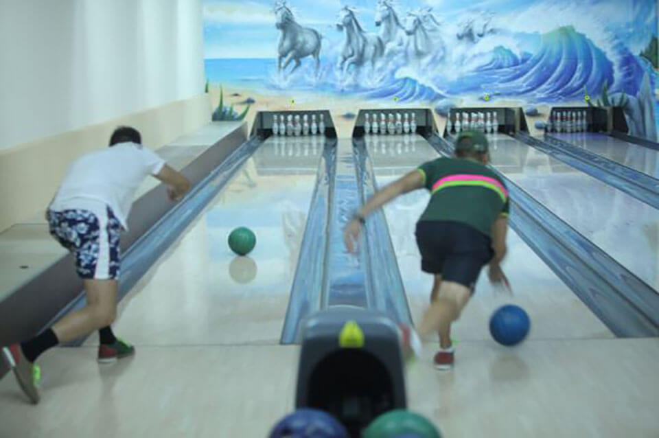 bowling-ul ajută la pierderea în greutate